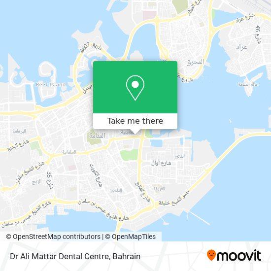Dr Ali Mattar Dental Centre map