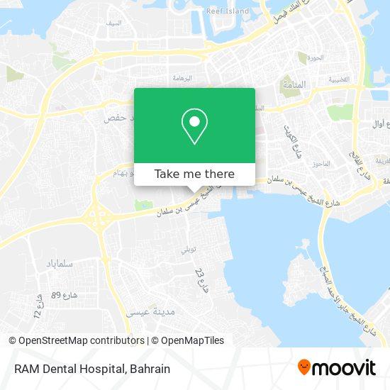 RAM Dental Hospital map