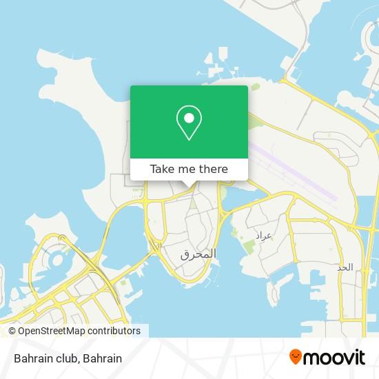 Bahrain club map