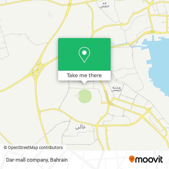 Dar-mall company map