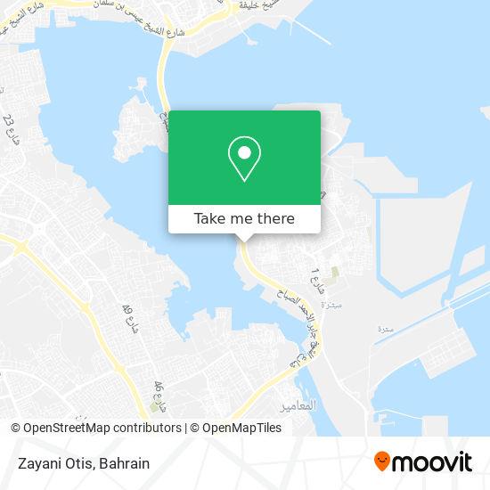 Zayani Otis map