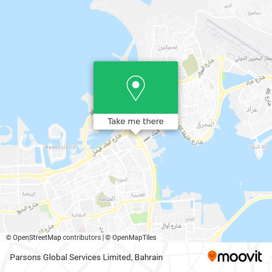 Parsons Global Services Limited map