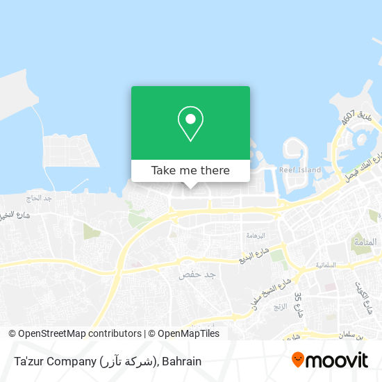 Ta'zur Company (شركة تآزر) map