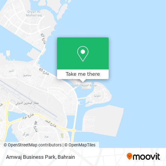 Amwaj Business Park map