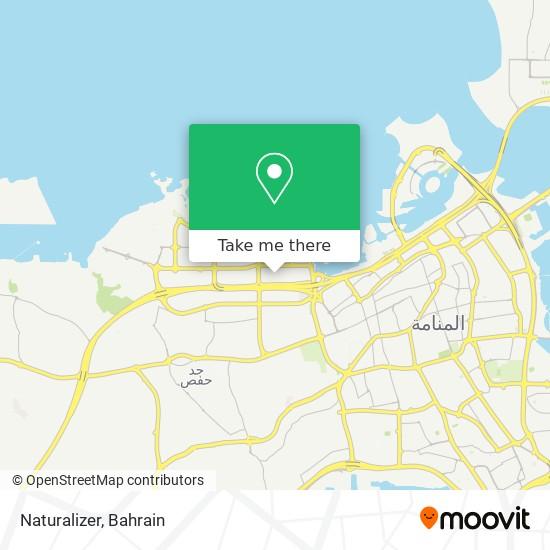 Naturalizer map