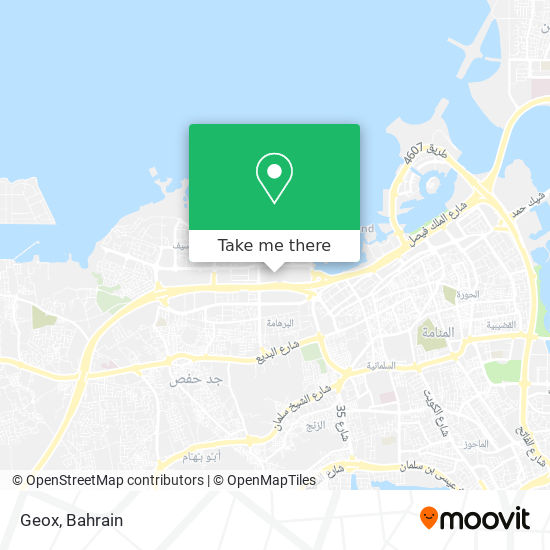 Geox map