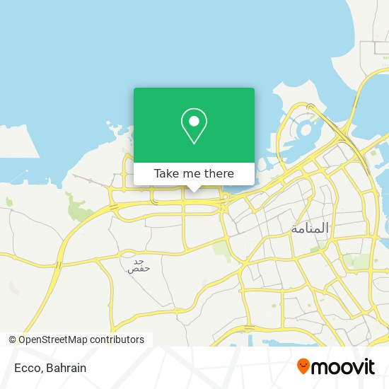 Ecco map