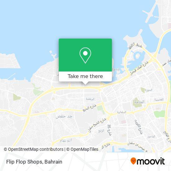 Flip Flop Shops map