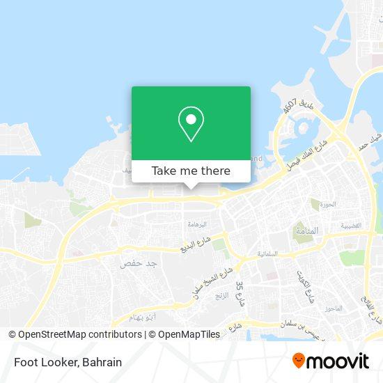 Foot Looker map