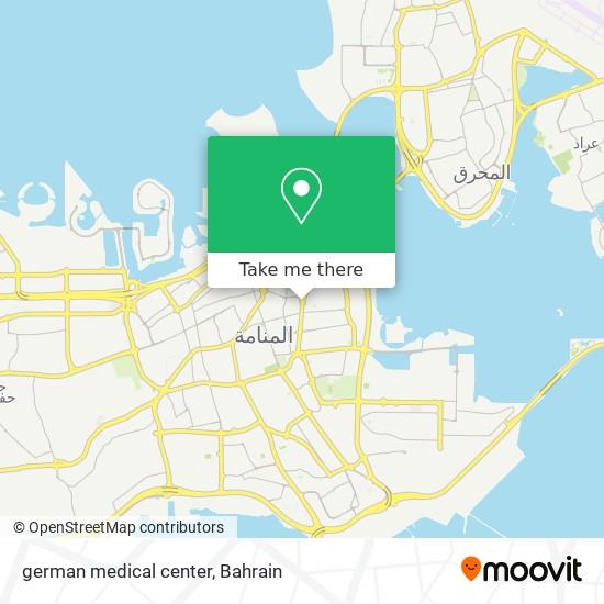 german medical center map