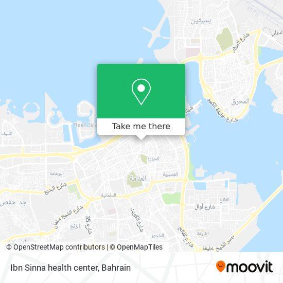 Ibn Sinna health center map