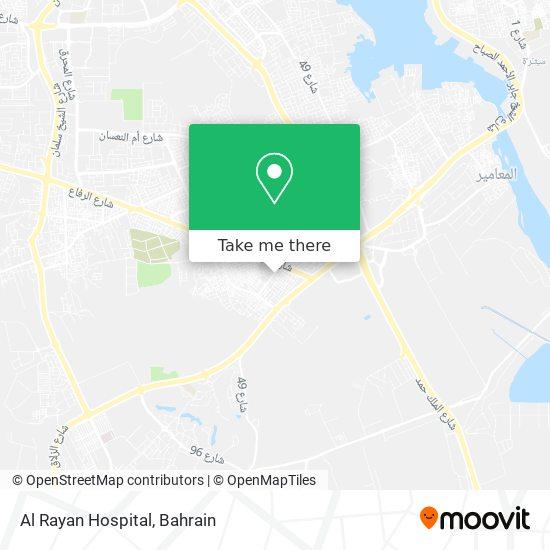 Al Rayan Hospital map