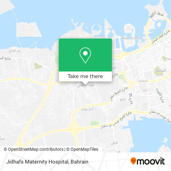 Jidhafs Maternity Hospital map