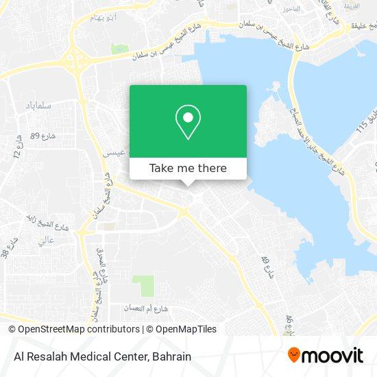 Al Resalah Medical Center map