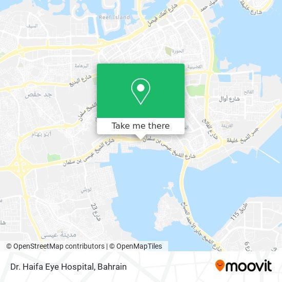 Dr. Haifa Eye Hospital map