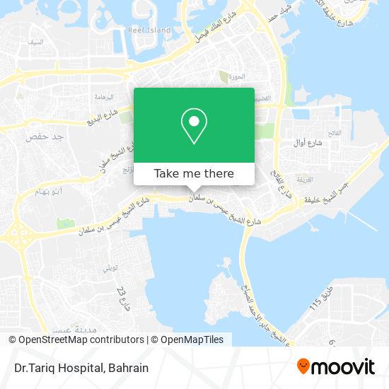 Dr.Tariq Hospital map