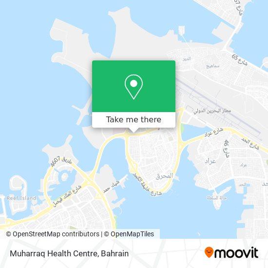 Muharraq Health Centre map