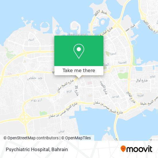 Psychiatric Hospital map
