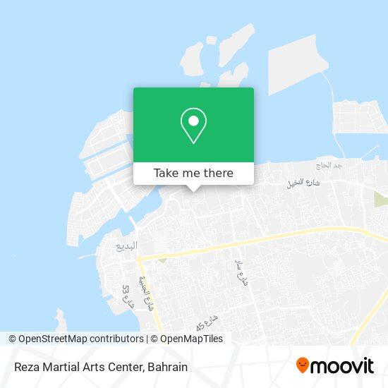 Reza Martial Arts Center map