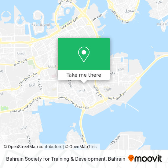 Bahrain Society for Training & Development map