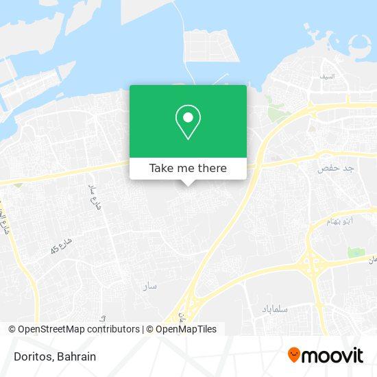 Doritos map