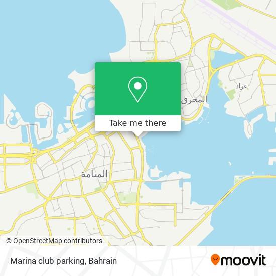 Marina club parking map