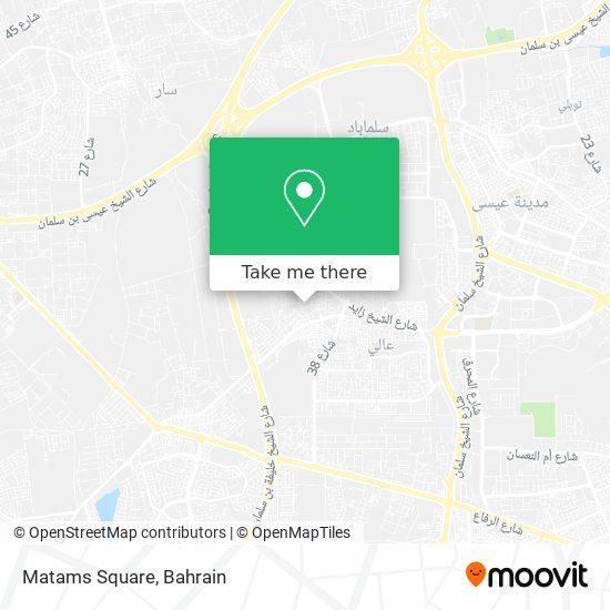 Matams Square map