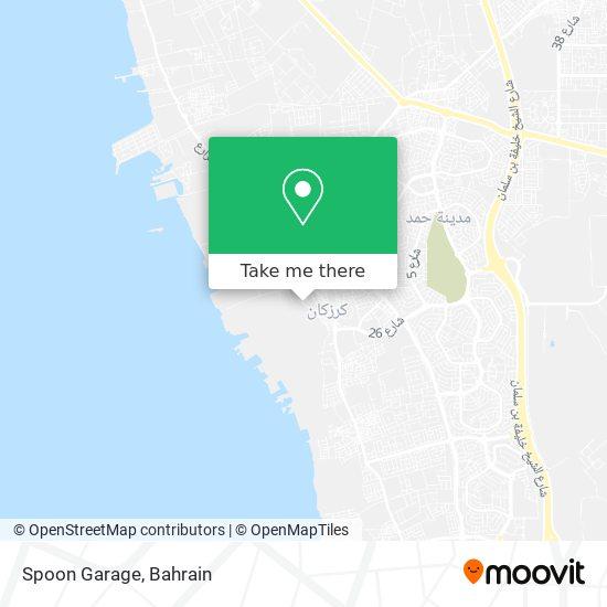 Spoon Garage map