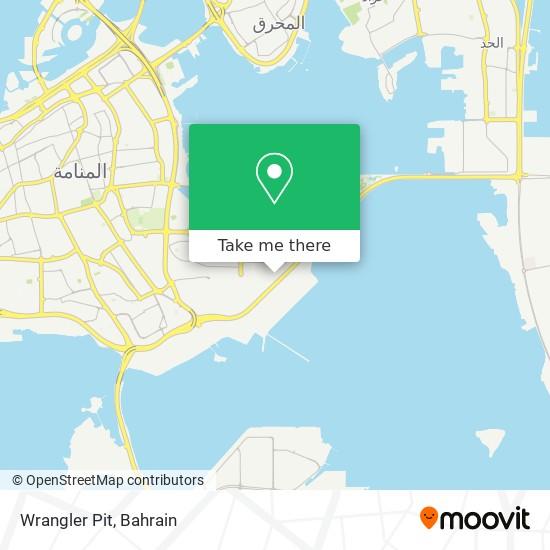 Wrangler Pit map