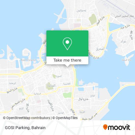 GOSI Parking map