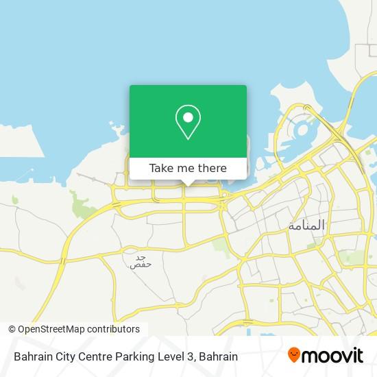 Bahrain City Centre Parking Level 3 map