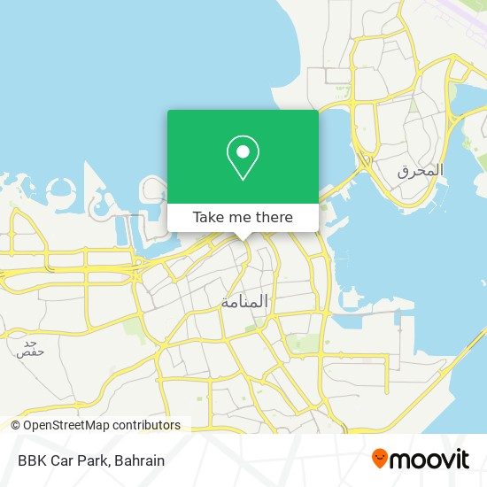 BBK Car Park map