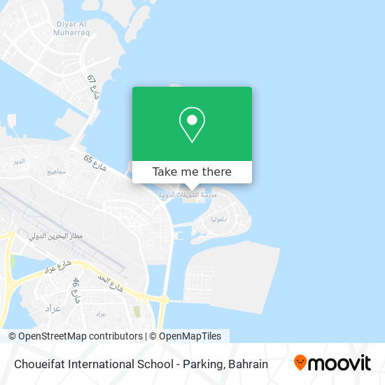 Choueifat International School - Parking map