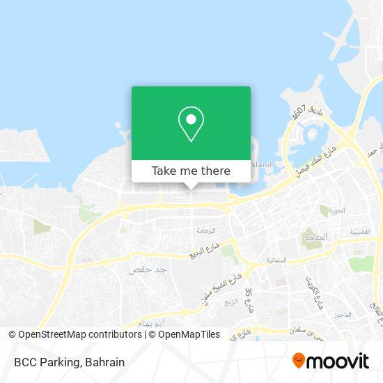 BCC Parking map