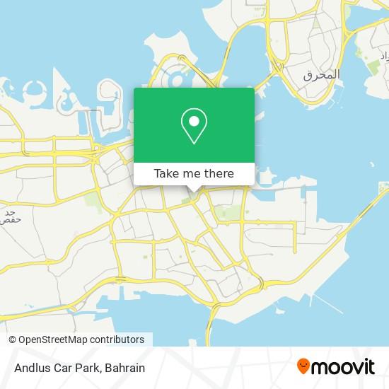 Andlus Car Park map