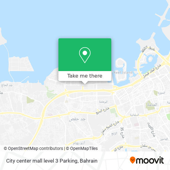 City center mall level 3 Parking map