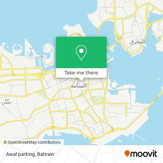 Awal parking map