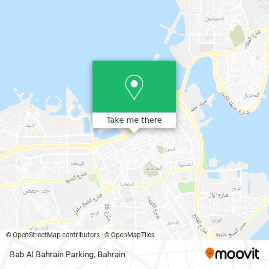 Bab Al Bahrain Parking map