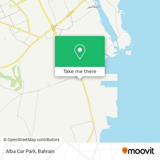Alba Car Park map
