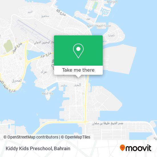Kiddy Kids Preschool map