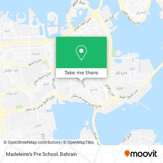 Madeleine's Pre School map