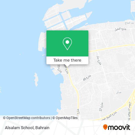 Alsalam School map