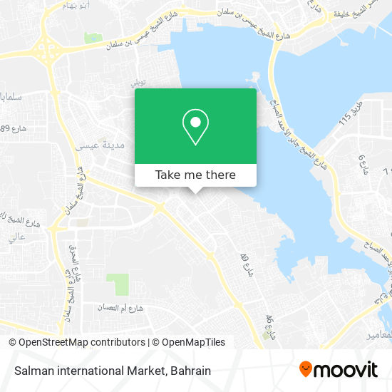 Salman international Market map