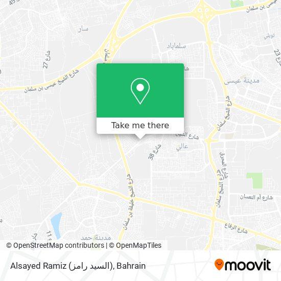 Alsayed Ramiz (السيد رامز) map
