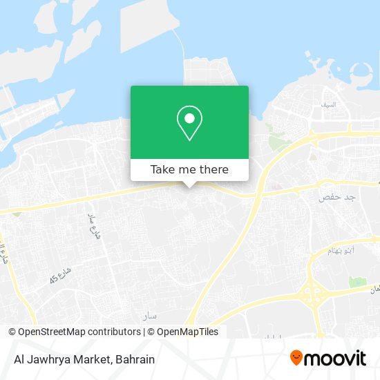 Al Jawhrya Market map