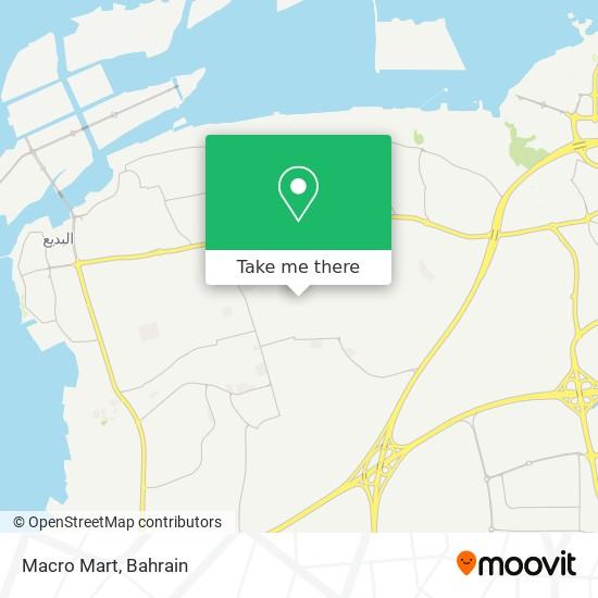Macro Mart map