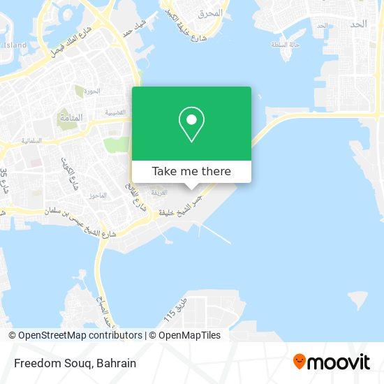 Freedom Souq map