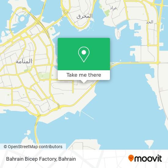 Bahrain Bicep Factory map