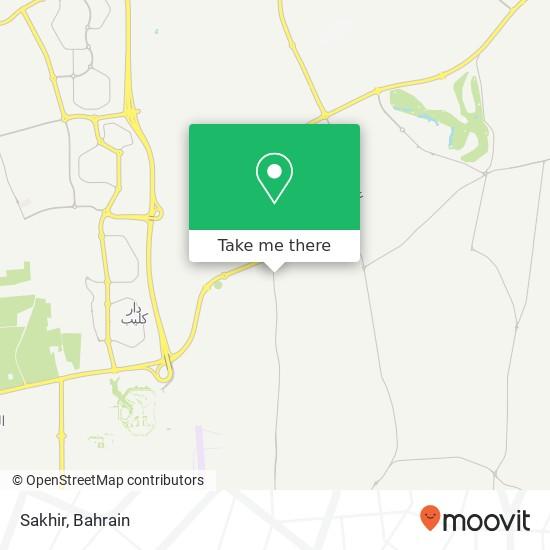 Sakhir map