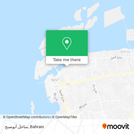 ساحل أبوصبح map